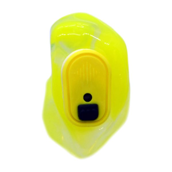 Clear and neon yellow silicone with a yellow Vario Revolution module
